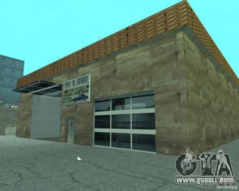 New Xoomer. new gas station. for GTA San Andreas