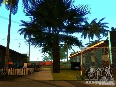Perfect vegetation v. 2 for GTA San Andreas third screenshot