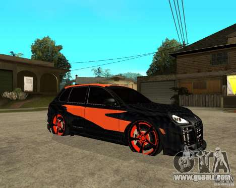 Porsche Cayenne Turbo S Tunned for GTA San Andreas right view