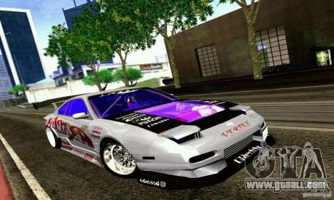 Nissan 150SX Drift for GTA San Andreas left view