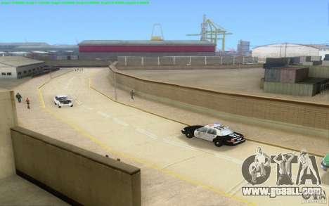 Concrete roads of Los Santos Beta for GTA San Andreas twelth screenshot
