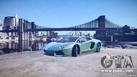 Lamborghini Aventador LP700-4 v1.0 for GTA 4 wheels