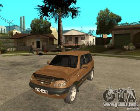 CHEVROLET NIVA Version 2.0 for GTA San Andreas