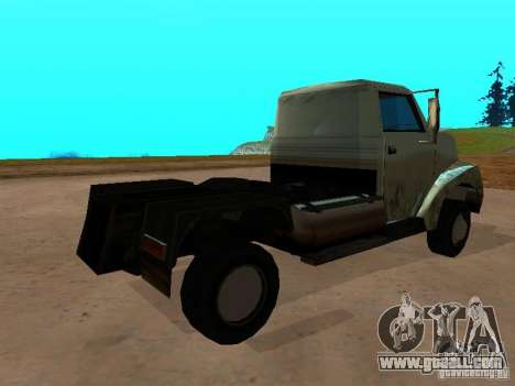 Yankee Truck for GTA San Andreas back left view