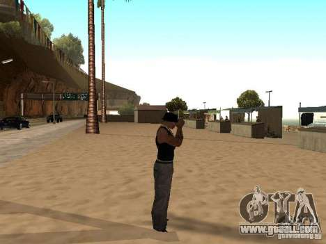 Market on the beach for GTA San Andreas tenth screenshot