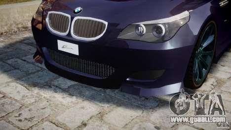 BMW M5 Lumma Tuning [BETA] for GTA 4 interior
