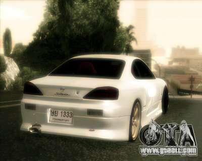 Nissan Silvia for GTA San Andreas side view