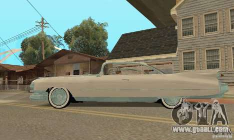Cadillac 1959 for GTA San Andreas right view