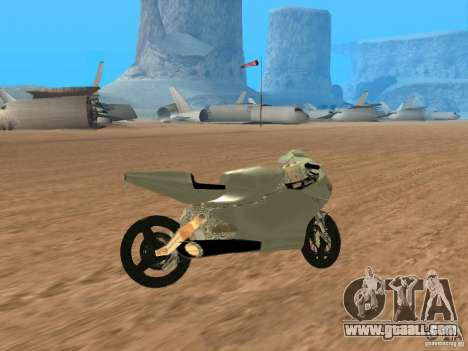 Turbine Superbike for GTA San Andreas right view