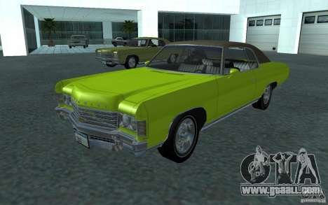 Chevrolet Impala 1971 for GTA San Andreas