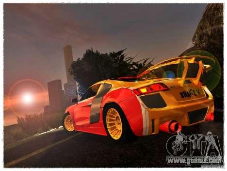 Audi R8 Calibri-Ace for GTA San Andreas left view