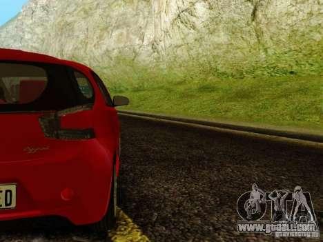 Aston Martin Cygnet for GTA San Andreas right view