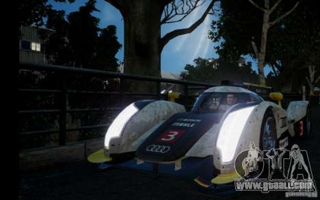 Audi R18 TDI 2011 for GTA 4 back left view