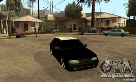 Lada ВАЗ 2114 LT for GTA San Andreas back view