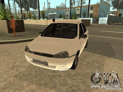 Lada Kalina for GTA San Andreas