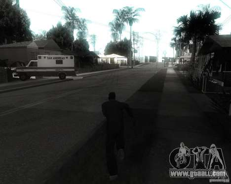 GTA SA - Black and White for GTA San Andreas third screenshot