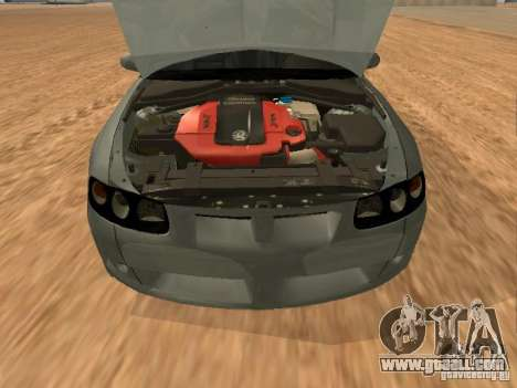 Vauxhall Monaro for GTA San Andreas right view