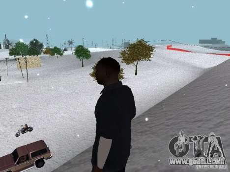 Snow MOD 2012-2013 for GTA San Andreas ninth screenshot
