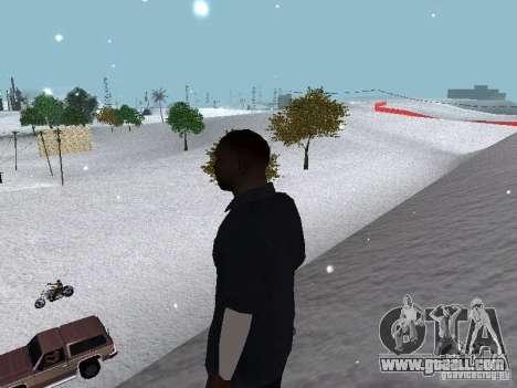 Snow MOD 2012-2013 for GTA San Andreas ninth screenshot