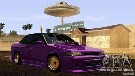 Subaru Legacy Drift Union for GTA San Andreas right view