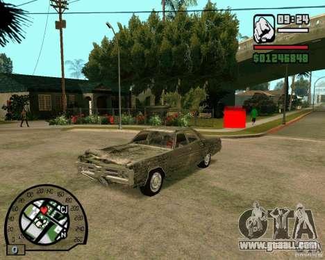 Plymouth Fury III for GTA San Andreas