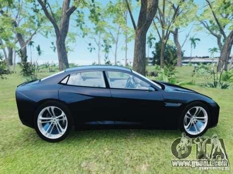 Lamborghini Estoque for GTA 4 right view
