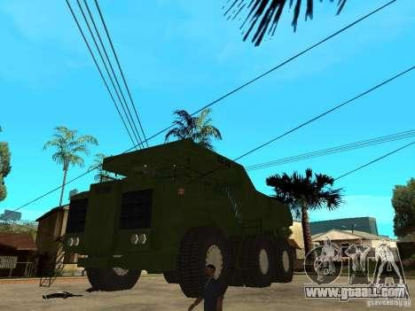 Belaz for GTA San Andreas