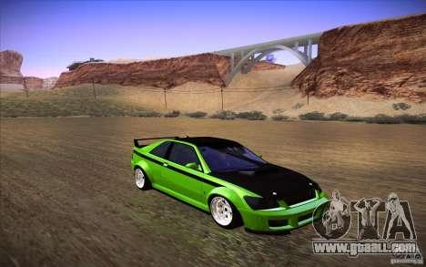 GTA IV Sultan RS for GTA San Andreas