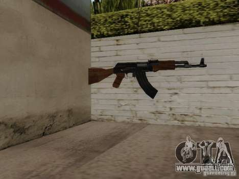 AK-47 of Saints Row 2 for GTA San Andreas
