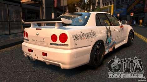 Nissan Skyline ER34 Nismo Z Tune for GTA 4