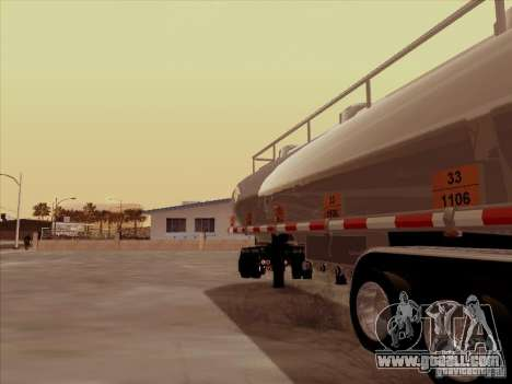 Trailer Kenworth T2000 for GTA San Andreas right view