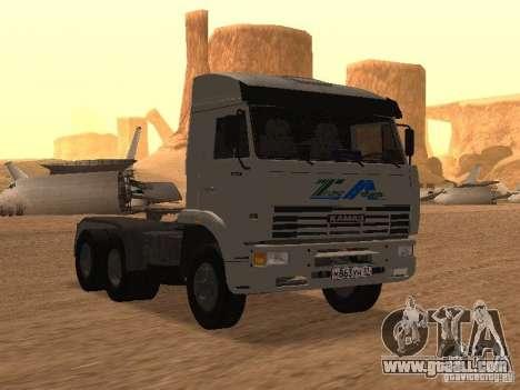 KAMAZ 6460 for GTA San Andreas