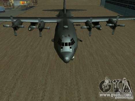 AC-130 Spooky II for GTA San Andreas right view