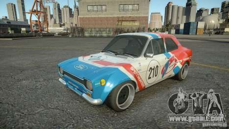 Ford Escort Mk1 for GTA 4 right view