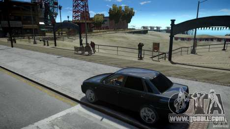 Lada Priora Light Tuning for GTA 4 inner view