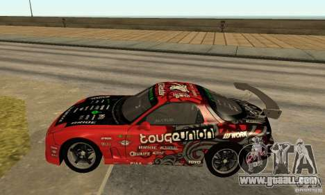 Mazda RX-7 FD3S for GTA San Andreas left view