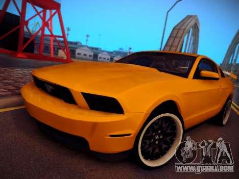 Ford Mustang GT 2010 Tuning for GTA San Andreas