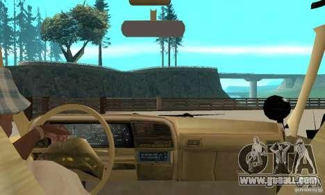 Ford Explorer (Jurassic Park) for GTA San Andreas back view