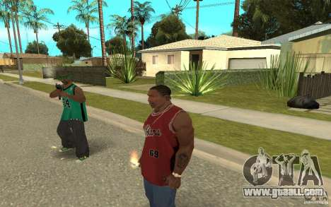 Grove Street Skin Pack for GTA San Andreas eighth screenshot