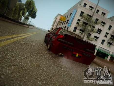 Nissan Silvia S13 Daijiro Yoshihara v2 for GTA San Andreas back left view