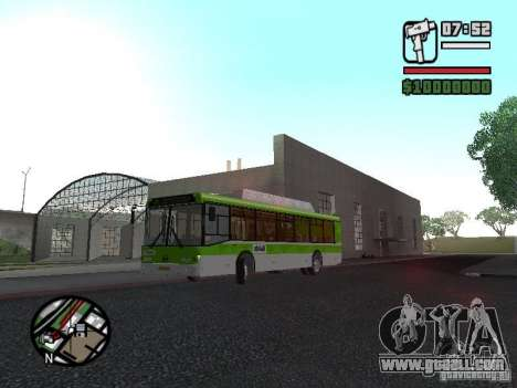LIAZ 5292.70 for GTA San Andreas left view