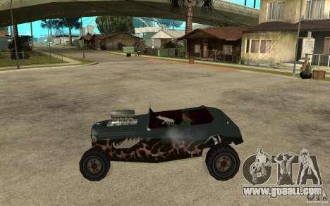 Deuce Brutal Legend for GTA San Andreas left view