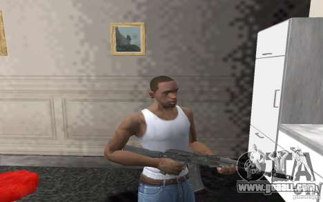 AK-74 m for GTA San Andreas third screenshot