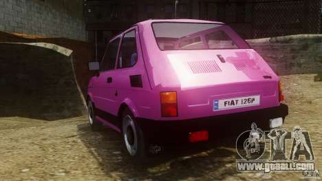 Fiat 126p FL Polski 1994 Wheels 1 for GTA 4 back left view