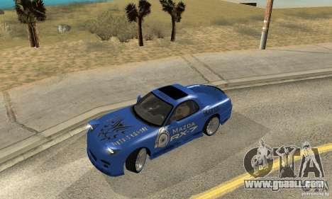 Mazda RX-7 Pickup for GTA San Andreas