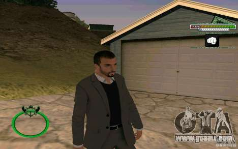 New HD Skin Businessman for GTA San Andreas
