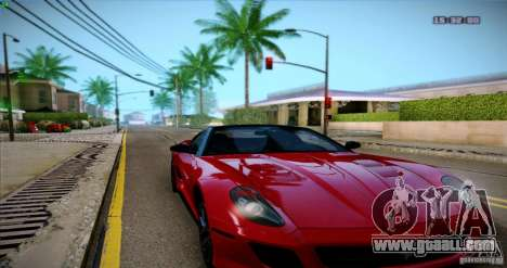 Paradise Graphics Mod (SA:MP Edition) for GTA San Andreas second screenshot