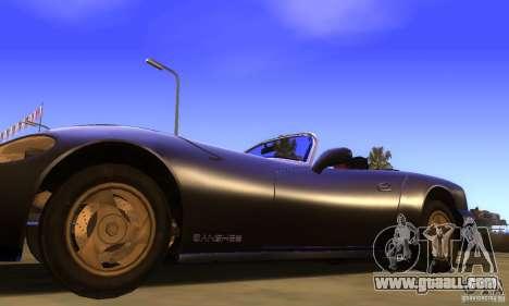 New Banshee [HD] for GTA San Andreas back left view