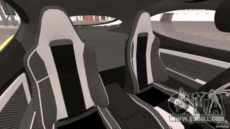 Alfa Romeo 8C Competizione for GTA 4 inner view