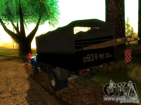 ZIL 431410 for GTA San Andreas left view